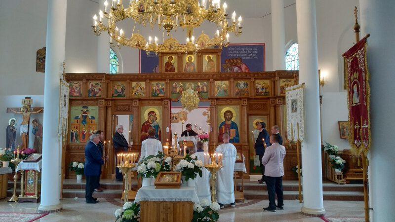 Пренос Божеской Літургіі з 31.05.2020р